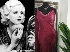 Pink Velvet Dress, Pink Dress, 1930s Fashion, Old Hollywood Glamour, Vintage Velvet, Vintage Dresses, Prom Dresses, Beautiful, Style