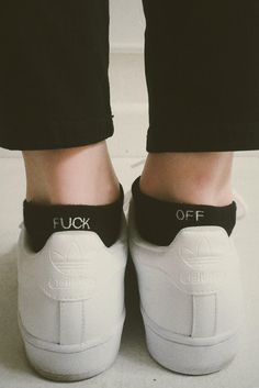 Brandy ♥ Melville | F-OFF Ankle Socks - Socks - Accessories