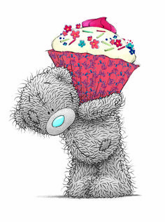 Three Little Bears: Tatty Teddy Teddy Images, Teddy Bear Pictures, Cute Images, Cute Pictures, Tatty Teddy, Birthday Greetings, Birthday Wishes, Happy Birthday, Cake Birthday