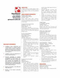 Brian Mayzure beautiful resume