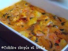 Cassolette aux fruits de mer