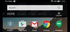 Amazon's Fire Tablet normally restricts you to the Amazon Appstore. But the Fire Tablet runs Fire OS, which is based on Android. You can install Google's Play Store and gain access to every Android app, including Gmail, Chrome, Google Maps, Hangouts, and the over one million apps in Google Play.