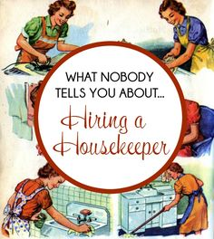 Thinking about hiring a housekeeper? Be sure to read this article because it tells you everything you need to know! I wish I had read this before I hired my cleaning lady.