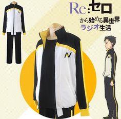 Re:Zero kara Hajimeru Isekai Seikatsu - Subaru Natsuki Cosplay Costume…