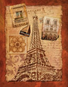 Conrad Knutsen: Memories of Paris Keilrahmen-Bild Leinwand Italien Urlaub Oh Paris, Paris Art, Paris France, Wall Art Prints, Fine Art Prints, Framed Prints, Framed Art, Paris Kunst, Paris Canvas