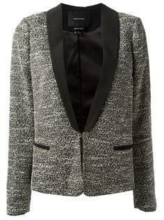 MAISON SCOTCH - bouclé jacket 7