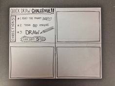 come to the Art side: Monday Mayhem: New Year, Quick Draw Challenge, & Paper…
