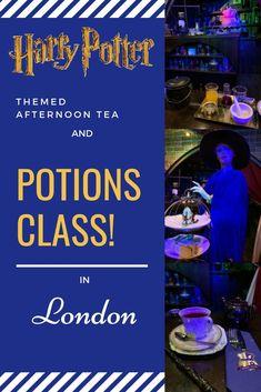 Harry Potter Afternoon Tea in London Potions Class at Cutter and Squidge Harry Potter Afternoon Tea in London Potions Class at Cutter and Squidge Bakery Hawaii Travel, Thailand Travel, Italy Travel, Bangkok Thailand, Harry Potter London, Afternoon Tea London, Museum Of Childhood, London Blog, London Landmarks