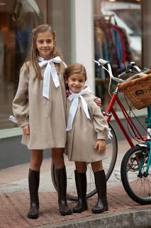 Image in Cute Kids/Cute Kids Fashion 👶🏻👕 collection by Posy🌷 Dresses Kids Girl, Little Girl Outfits, Little Girl Fashion, Girls, Vintage Kids Fashion, Preppy Kids, Moda Kids, Look Girl, Stylish Kids