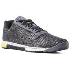 premium selection 87a51 cf00b Reebok Shoes Men s Speed TR Flexweave® in Cold Grey White Go Yellow Size 7  - Training Shoes