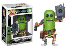 Rick and Morty Pickle Rick with Laser Pop! Vinyl Figure #332 [Pre-order]