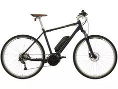"Carrera Crossfuse Mens Electric Hybrid Bike - 19"" | Halfords UK"