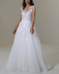 Chicago area wedding dress store that specializes in equisite European wedding dresses that combine romance, elegance and quality. European Wedding Dresses, Pretty Wedding Dresses, Wedding Gowns With Sleeves, Wedding Dress Trends, Bride Gowns, Long Sleeve Wedding, Bridal Dresses, Modest Wedding, Godmother Dress
