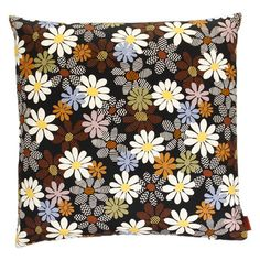 Would love a mix of these on the sofa! Missoni Home Orsay Cushion Floral Throws, Floral Throw Pillows, Scatter Cushions, Luxury Sofa, Missoni, House Colors, Home Accessories, Design, Home Decor
