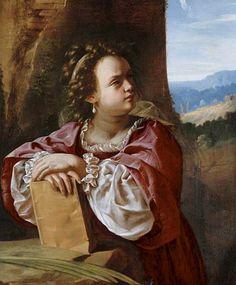 Saint Catherine of Alexandria 1614-1620, Oil on canvas