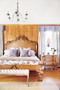 Panelled bedrooms