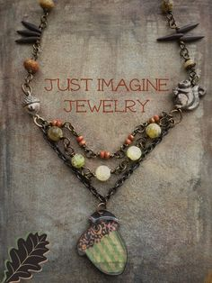 Nature's Treasure by JustImagineJewelry on Etsy