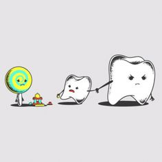 #teeth #toys #game #young #child #kids #lollipop #mother #wrong #circle #illustration #artist #art #humor #funny #lol #danger