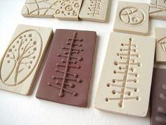 Bisutería de arcilla polimérica, imitación de esmalte by fperezajates, via Flickr