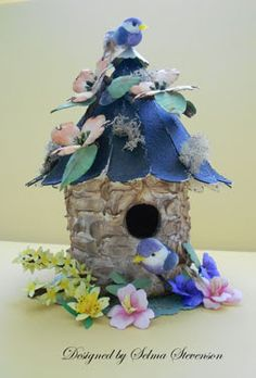 Selma's Stamping Corner and Floral Designs: Birdhouses