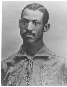 Moses Fleetwood Walker was the first African-American to play in major league baseball, 30 years before Jackie Robinson was even born. A catcher for the Toledo Bluestockings in Black History Month, Today In Black History, Black History Facts, Strange History, First Black Baseball Player, Negro League Baseball, Baseball Players, Baseball Tickets, Baseball Jerseys