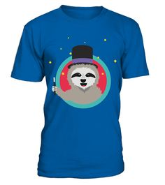 # Magican Sloth with wand T Shirt .  HOW TO ORDER:1. Select the style and color you want: 2. Click Reserve it now3. Select size and quantity4. Enter shipping and billing information5. Done! Simple as that!TIPS: Buy 2 or more to save shipping cost!This is printable if you purchase only one piece. so dont worry, you will get yours.Guaranteed safe and secure checkout via:Paypal | VISA | MASTERCARD