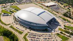 Dallas Cowboys Stadium in Arlington, Texas (AP Photo/Brandon Wade)