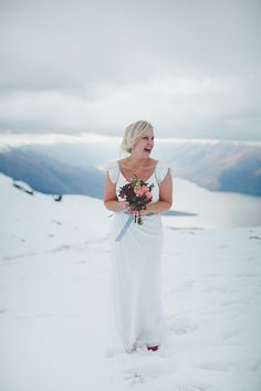 Wanaka Winter wedding by Bayly and Moore