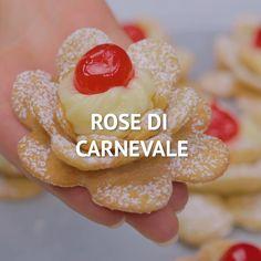 Italian Pastries, Italian Desserts, Italian Recipes, Pastry Recipes, Sweets Recipes, Cookie Recipes, Easy Sweets, Easy Desserts, Buzzfeed Tasty