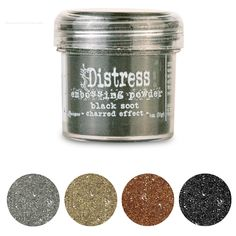 Polvos colores Distress relieve. Embossing powder Distress Ranger 34 m