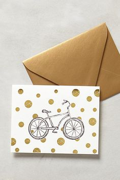 Pedal Dots Card #anthropologie