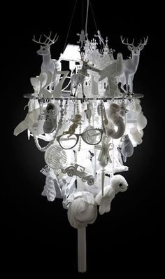 Hot or Not? Innermost White Light Fixture by Winnie Lui