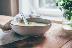 Bulgurovo-fazuľová polievka   JEDZ A MILUJ