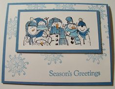 Stampin up serene snowflakes and holiday line up
