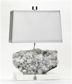 Gorgeous Mineral Lamps by Brenda Houston | SparkleShock