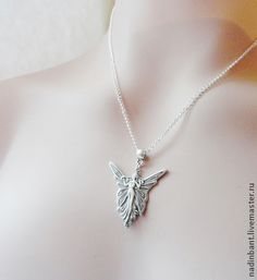Кулон Королева Фей - серебряный,кулон,кулончик,ангел,фея,королева фей