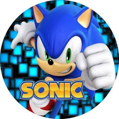 painel sonic - BúsquedadeGoogle Sonic Birthday, Mickey Mouse Birthday, Sonic Party, Edible Printing, Sonic Boom, I Can Do It, Cute Images, Super Mario, Sonic The Hedgehog