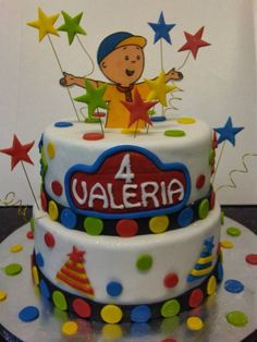 Caillou Cake Pinterest Caillou Birthdays and Birthday party