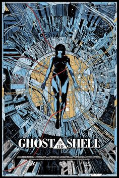 ghost in the shell 1995 movie poster - Google Search
