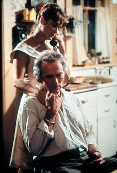 The Bridges of Madison County. When they touch each other for the very first time... So sexy...
