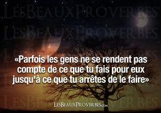 Les Beaux Proverbes – Proverbes, citations et pensées positives » » Jusqu'à ce que tu arrêtes