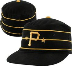 ba44429d61e Pittsburgh Pirates 1977-86 Cooperstown Fitted Cap by MLB.  24.99. Mesh  lining.