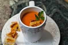 Still digging out after that last blizzard? Throw together this yummy Slow Cooker Tomato Soup before you go outside, and return to #hotsoup! @Susan Caron Williams/*that* Susan Williams