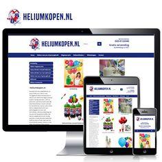 www.heliumkopen.nl – Op www.heliumkopen.nl kun je terecht als je een feestje met heliumballonnen wilt versieren! Ook grootgebruikers of pro's kunnen hier terecht voor professionele heliumcilinders. Weppster bouwde de webshop met Wordpress & Woocommerce. Volg ons ook op: Blogspot - http://weppster.blogspot.nl/