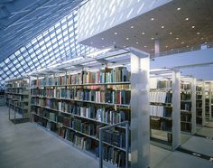 Library Shelving by Modern Office Systems, via Flickr