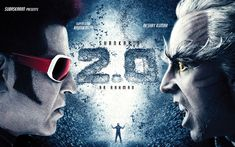 Download wallpapers 2 0 film, 2018, S Shankar, Rajinikanth, Akshay Kumar, 4k, poster