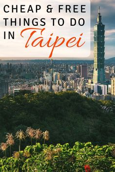 Taipei, Taiwan isn't the super budget friendly destination it once was. But not to worry, there is still plenty of cheap or free things to see and do. Check out our list to save money on your next trip to Taipei!