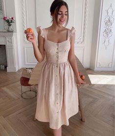 Cute Casual Outfits, Pretty Outfits, Pretty Dresses, Casual Dresses, Elegant Dresses, Vintage Dresses, Dress Outfits, Fashion Dresses, Evening Dresses
