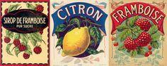 exemples labels vintages