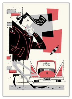 Derek Art - Illustration, Serigraphs, Paintings, and Tiki Mugs